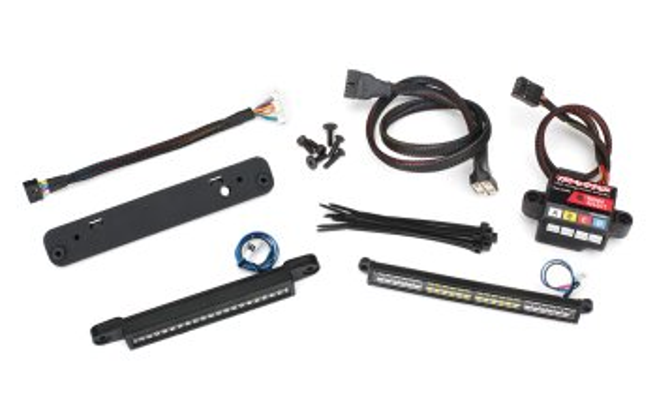 Traxxas TRX7885 LED Licht Set Komplett für Traxxas X-Maxx inkl. 6590 High Voltage Power Supply