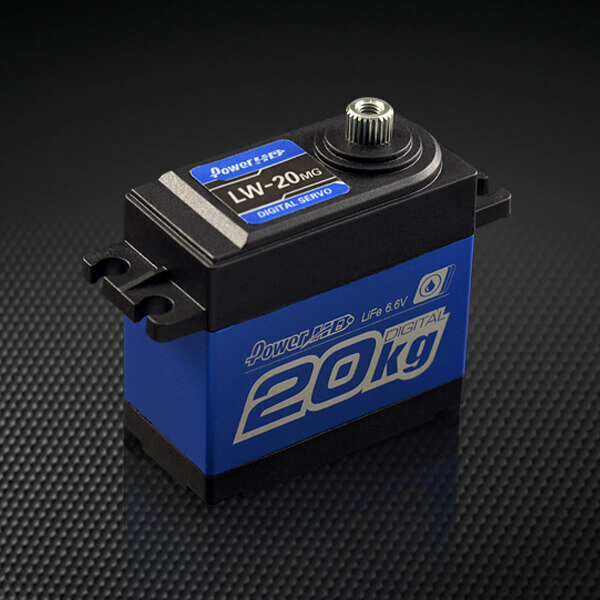Power HD LW-20MG Servo 20kg Metallgetriebe Wasserdicht...