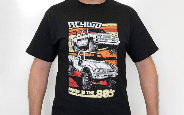 RC4WD Z-L0231 RC4WD T-Shirt Made in the 80s (3XL)