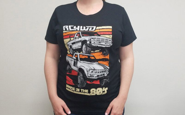 RC4WD Z-L0235 RC4WD T-Shirt Made in the 80s (Damen L)