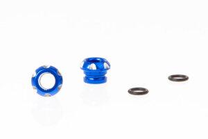 Killerbody KB48120B LED Halter Aluminium Blau für...