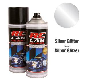 Ghiant RCC924 Lexan Farbe Silber Glitter Nr 924 150ml