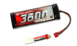 Robitronic SC3600T NiMH Akku 3600mAh 7,2V Stick Pack...