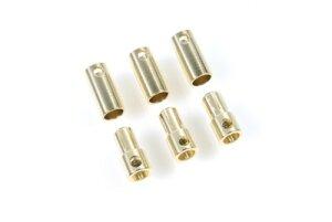 Castle-Creations CC Bullet 5.5mm Bullet Steckverbindung 5.5Mm 3 St. Stecker + 3 St. Buchse