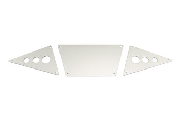 Axial AXIC0530 / AX30530 Vordere Unterfahrschutzbleche Aluminium Silber