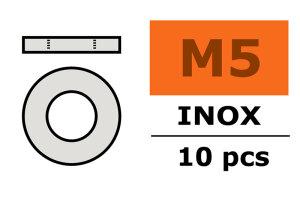 GForce GF-0254-006 Unterlegscheibe M5 Inox 10 St