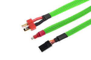 GForce GF-1476-014 Kabel-Schutzhülse Geflochten 6Mm...