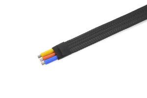 GForce GF-1476-020 Kabel-Schutzhülse Geflochten 8Mm...