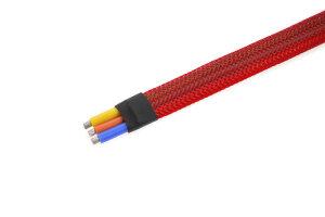 GForce GF-1476-022 Kabel-Schutzhülse Geflochten 8Mm...