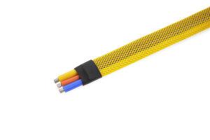 GForce GF-1476-023 Kabel-Schutzhülse Geflochten 8Mm...