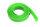 GForce GF-1476-034 Kabel-Schutzhülse Geflochten 10Mm Neon Grün 1M