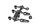 Axial AXIC3009 / AX31009 2-Gang Hi/Lo Servo Saver Set