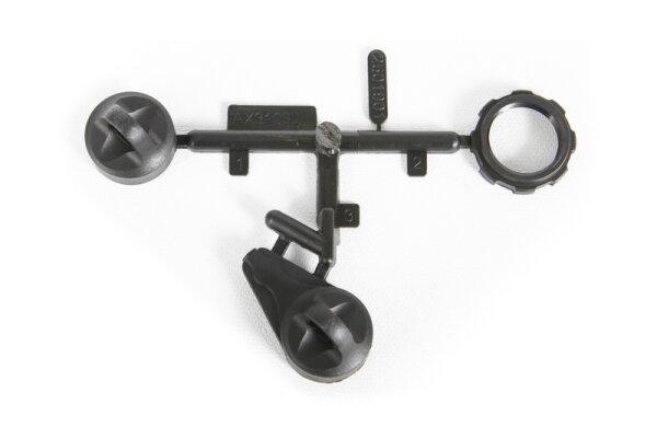 Axial AX31030 Big Bore Stoßdämpfer Cap Stoßdämpferkappen Parts 16mm