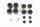Axial AXIC8027 / AX31074 Sechskantnabe Konv-Satz (12mm)(4Stück) 9026/Wraith