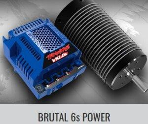 Traxxas 86086-4 E-Revo V2 mit Traxxas 6S Combo Brushless 4WD 2.4GHz TQi Wireless TSM Lila