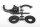 Axial AXIC1106 / AX31106 2-Gang Hi/Lo Tranny Motorhalterung Yeti