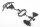 Axial AXIC3112 / AX31112 Stoßstange vorne Satz Yeti