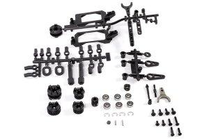 Axial AXIC0999 / AX31181 Yeti Getriebe 2 Gang Hi/Lo Komponenten