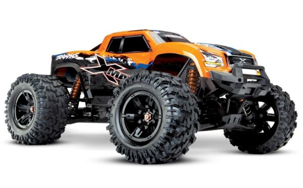 Selber konfigurieren Traxxas 77086-4 X-Maxx 8S Brushless 1-5 4WD 2.4GHz TQi Wireless Stabi-System TSM Orange-X