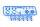Axial AXIC3300 / AX31300 10mm Stoßdämpfer Teile Baum 2 Blau