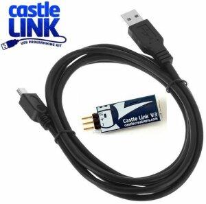 Castle Creations 011-0119-00 V3 Link USB Programming Kit...