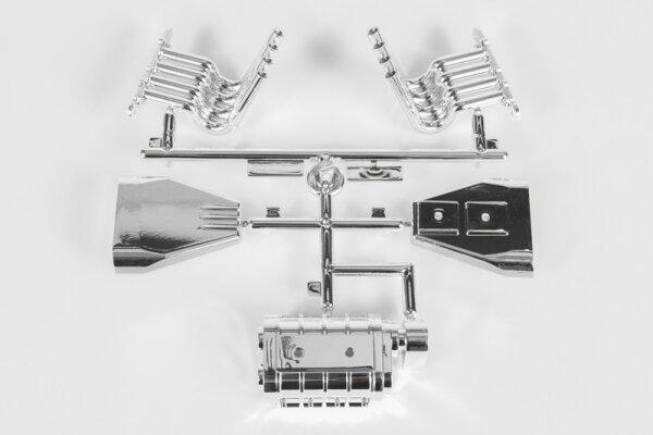 Axial AXIC3355 / AX31355 Monstertruck Motor Details (Chrom)