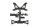 Axial AXIC3386 / AX31386 Rahmenstreben SCX10 II