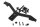 Axial AXIC3396 / AX31394 JCROffroad Vanguard Ersatzradträger