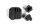 Axial AXIC1437 / AX31437 AR44 Diff Abdeckung & Link Mounts Schwarz