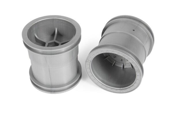 Axial AXIC1464 / AX31464 2.2 Monstertruck Felgen 63mm Silber (2)