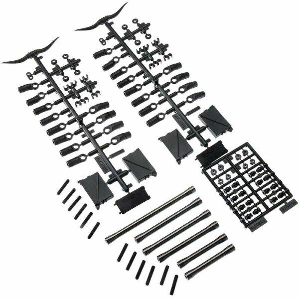 Axial AXIC1465 / AX31465 Frontlenker Satz Aluminium SCX10 II