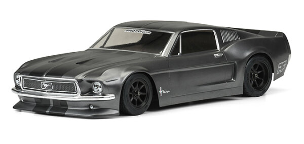 Proline 1558-40 PROTOform 1968 Ford Mustang Clear Karosserie