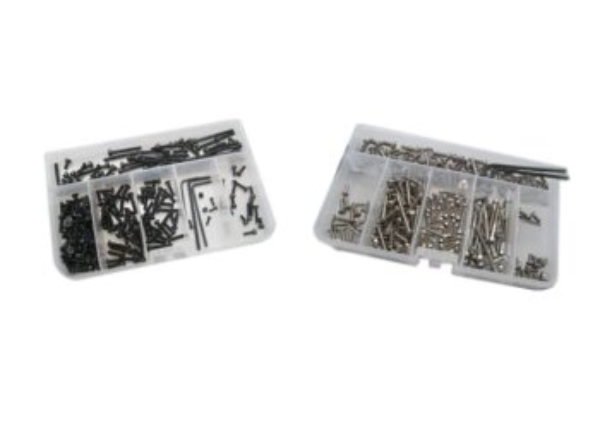 RC-Schrauben RCS-AMW-151-HS Schrauben-Set Amewi / Nanda BD8T (Stahl/Innensechskant)