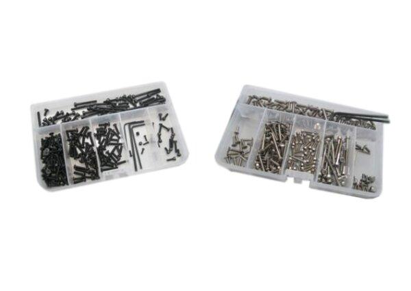 RC-Schrauben RCS-TAM-213-A2 Schrauben-Set Tamiya MAN TGX 26.540 6x4 1/14 (Edelstahl/Innensechskant)