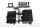 Axial AXIC0803 / AX80028 Teilebaum für Funkgerätbox SCX10
