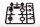 Axial AXIC0035 / AX80035 10mm Stoßdämpferkappen Teilebaum