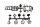 Axial AXIC4257 / AX80045 Beleuchtungseimer-Set Schwarz
