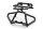 Axial AXIC0077 / AX80077 Rohrrahmen Stoßstange Wraith
