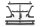 Axial AXIC0003 / AX80089 Wraith Rohrrahmen Stoßdämpferhalterung vorne