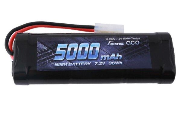 Gens Ace B-5000-7.2V-NiMH-Tamiya 5000mAh 7.2V 2S NiMh-Akku  Tamiya