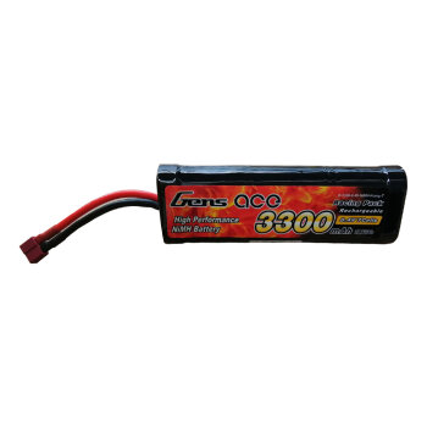 Gens Ace B-3300-8.4V-NIMH-Hump-T 3300mAh 8.4V  NiMh-Akku  T-Plug
