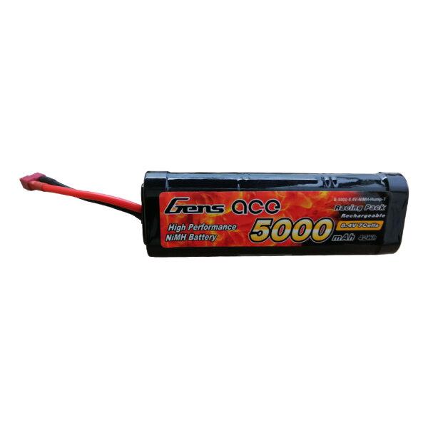 Gens Ace B-5000-8.4V-NIMH-Hump-T 5000mAh 8.4V  NiMh-Akku  T-Plug