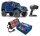 Traxxas 82056-4 TRX-4 Land Rover Defender Blau 1:10 4WD RTR Crawler TQi 2.4GHz Wireless mit Traxxas 3S Combo