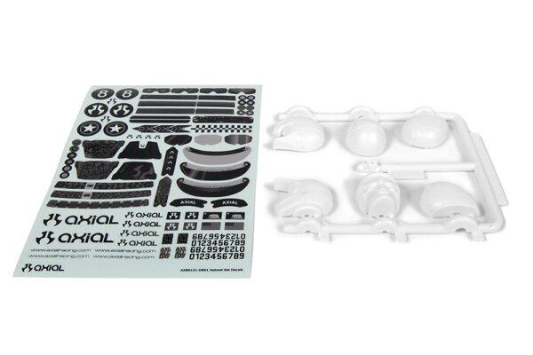Axial AXIC8031 / AX80131 Skull Helmet Set zur Verwendung mit Deadbolt Body
