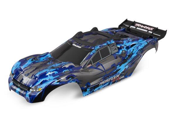Traxxas TRX6717X Karosserie Rusler 4x4 VXL silber