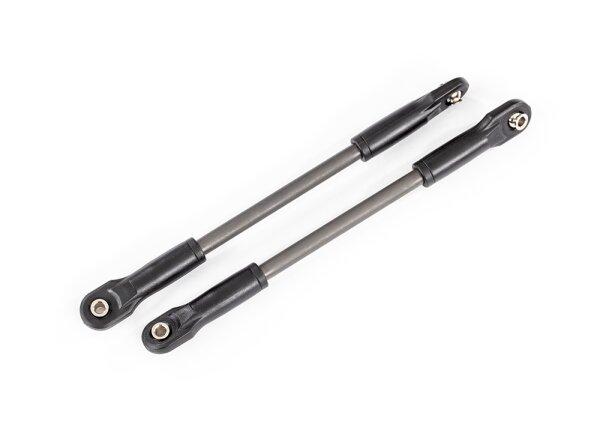 Traxxas TRX8619 Push Rod (Stahl) Heavy Duty montiert mit Kugelpfannen (2)