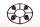 Axial AXIC7079 / AX8079 Nabenabdeckungssatz Schwarz (4)