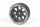 Axial AXIC8087 / AX8087 8-Loch 1.9 Beadlock Rad Schwarz (2)