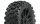 Proline 9067-21 Badlands MX M2 (medium) auf Felge Mach10 schwarz v/h (2 Stk.)