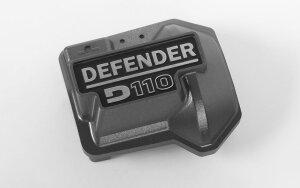 RC4WD VVV-C0479 Defender D110 Diff-Abdeckung für Traxxas TRX-4 (grau)